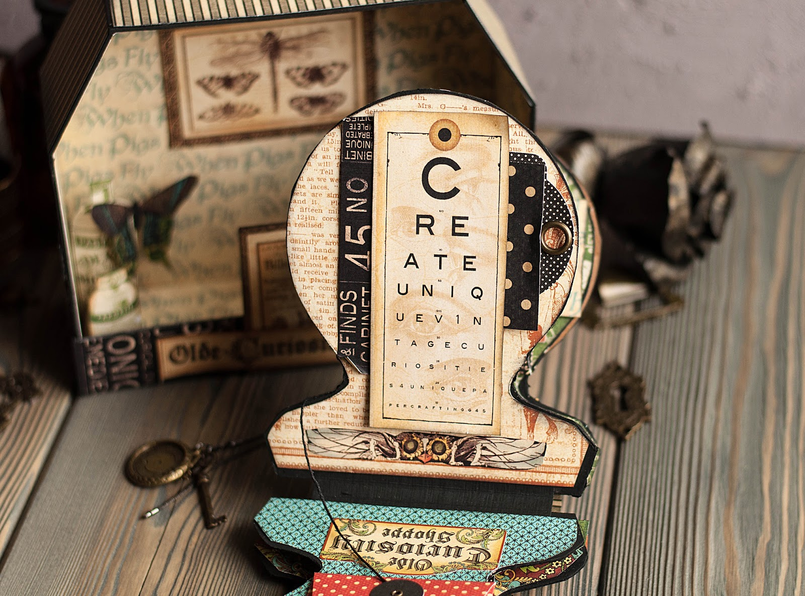 Olde Curiosity Shoppe-Album and Shoppe-tutorial by Lena Astafeva-products by Graphic 45-39.jpg