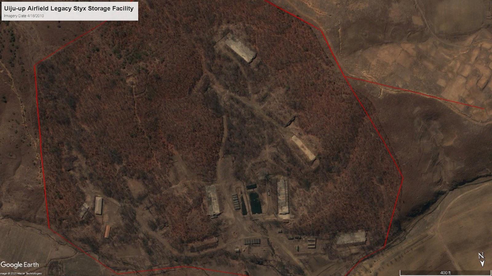 Uiju-Up Airfield Legacy Styx Storage Facility, 2010