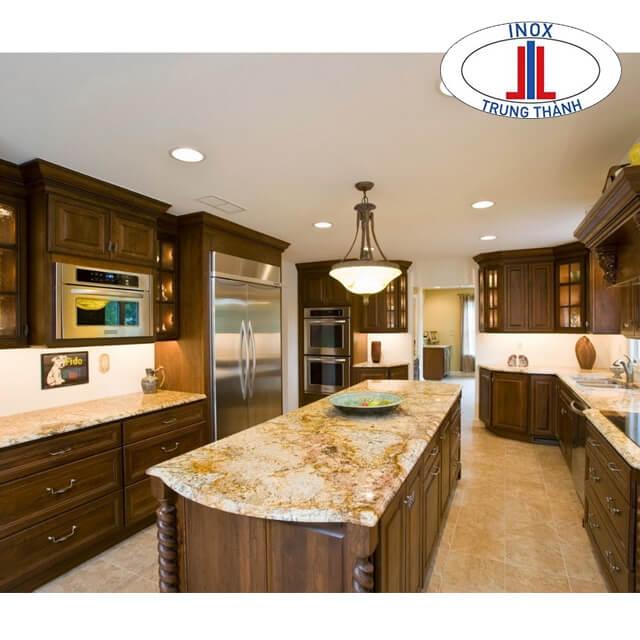 phòng bếp đẹp sang trọng