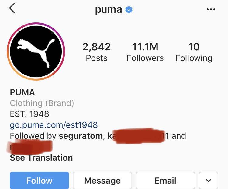 extra contact buttons in Instagram bio