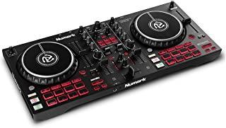 Numark Mixtrack Pro FX – 2 Deck DJ Controller For Serato DJ with DJ Mixer, Built-in Audio Interface, Capacitive Touch Jog ...