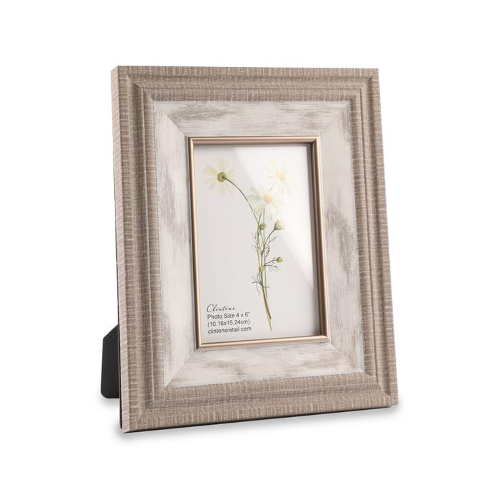 Clintons' 2 Tier Wood Effect Frame