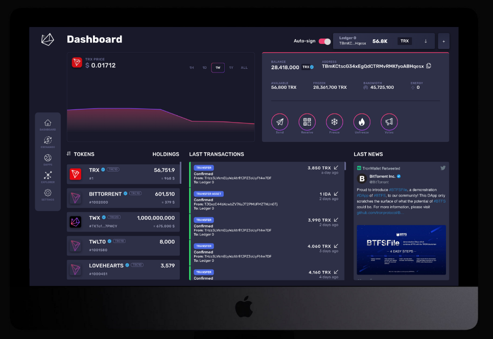 TronWallet Play available