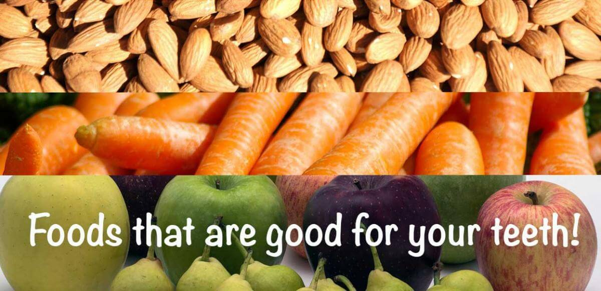 Foods good for teeth