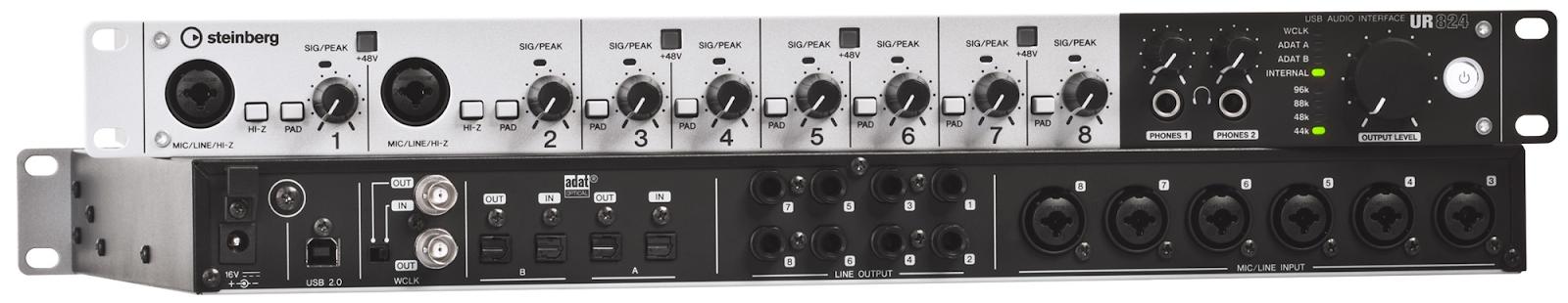 Steinberg UR 824 professzionális audio interfész