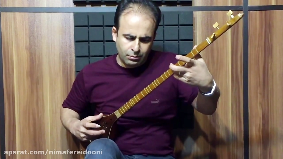 ترکمن حسین علیزاده آوانگاری و اجرا با سهتار نیما فریدونی