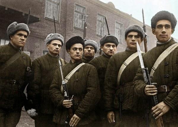 Московское ополчение 1941 год