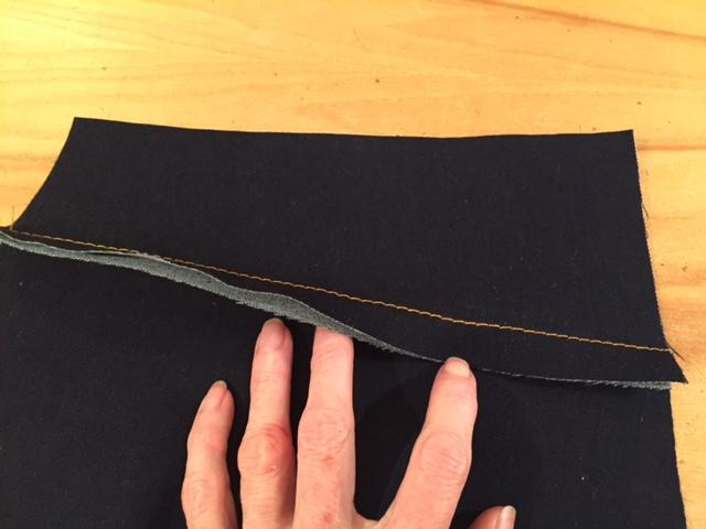 Ginger Jean Sew Along: Week 3 Construction + Flat Felled Seams