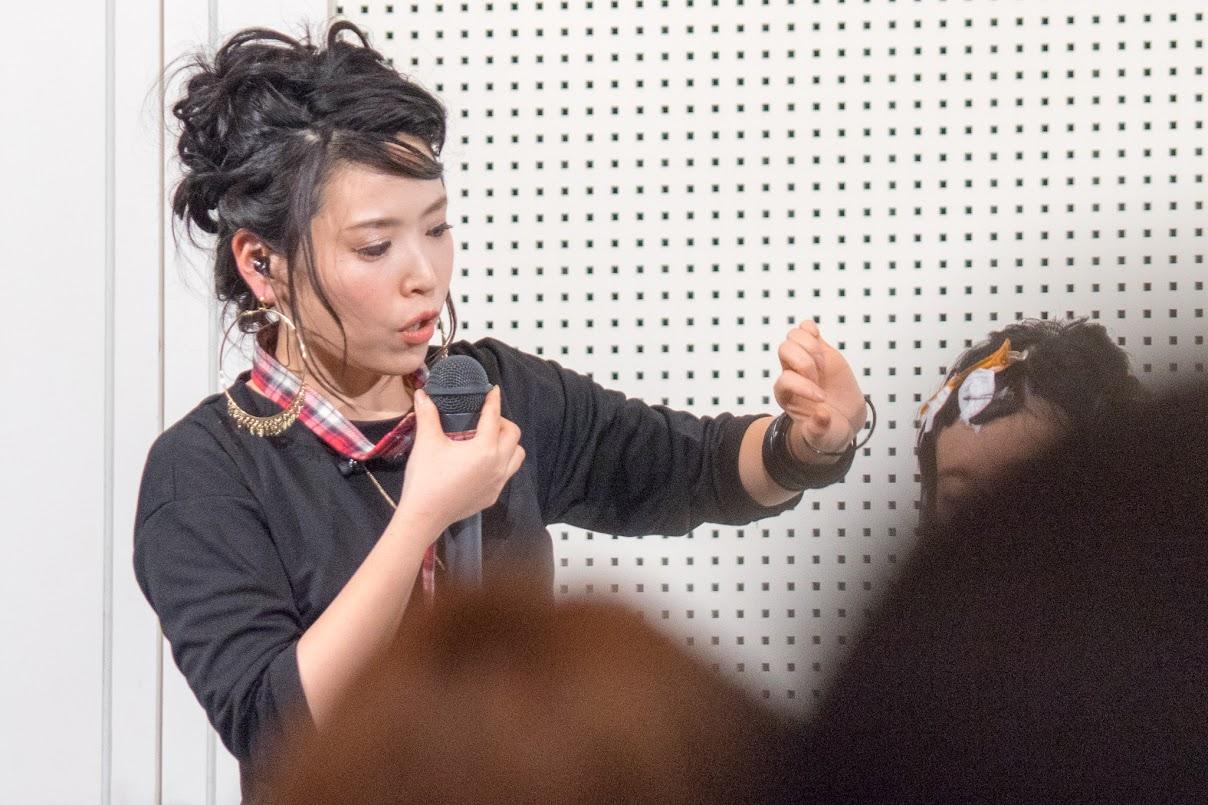 前髪の簡単セット指導