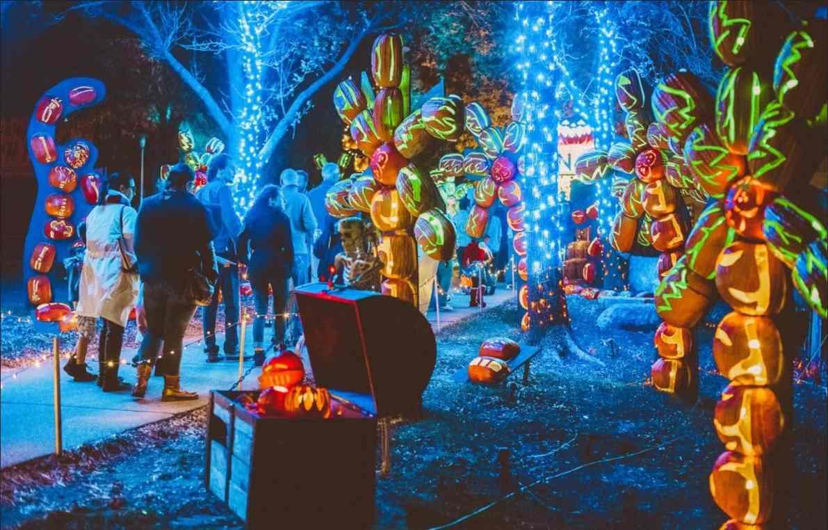 Pumpkin Nights; The Best Halloween Events In Texas in 2021