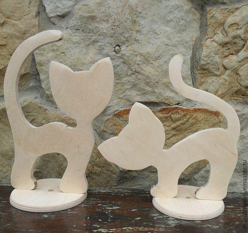 Кошки - фигурки для сада