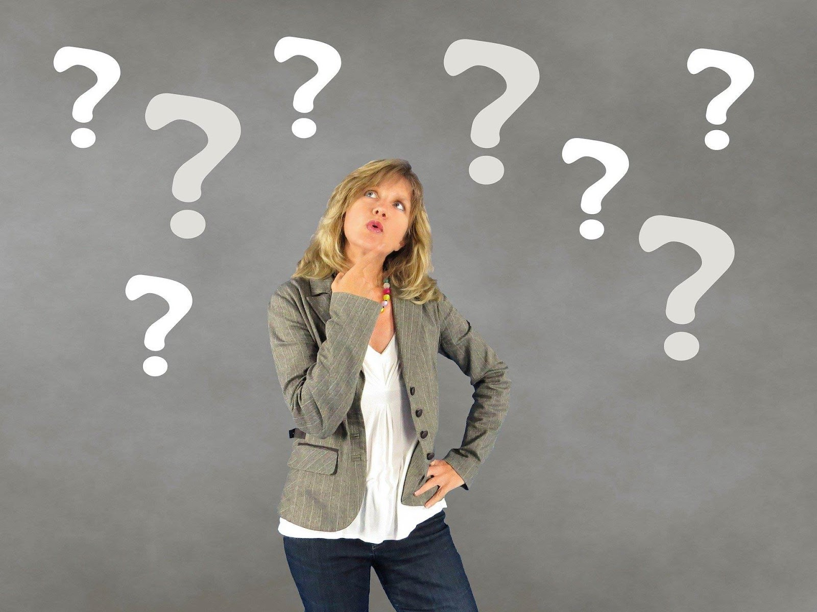 Femme qui se pose des questions | Vendre ses photos en ligne