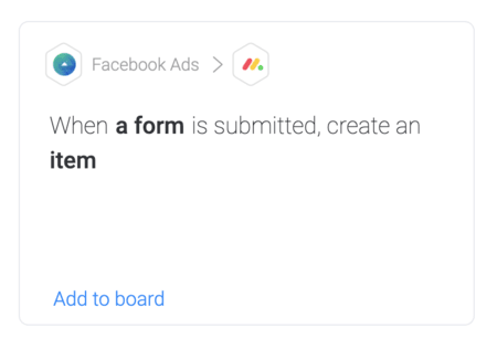 when a form is submitted, create an item