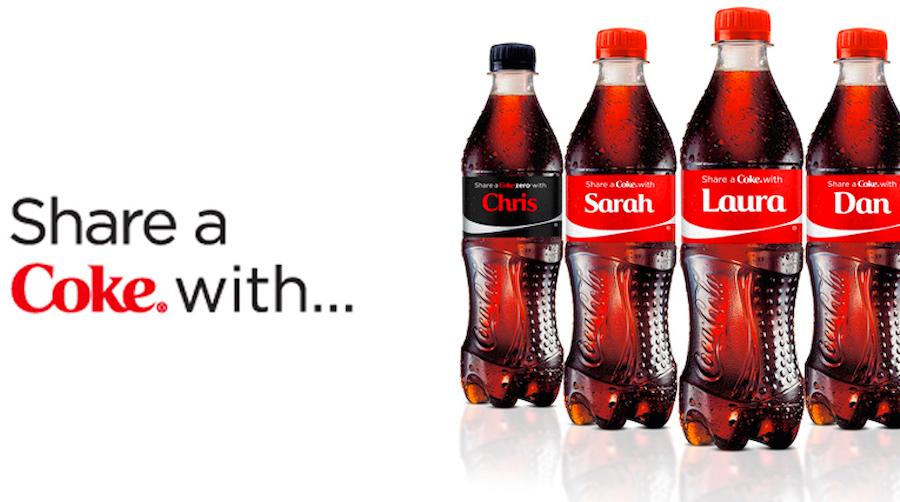 Sticker marketing campaign - Coke