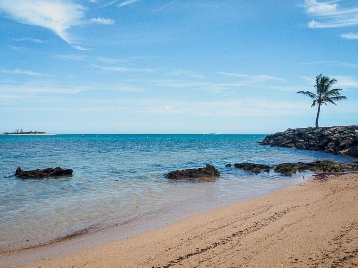 Anse Vata beach is the main tourist beach located in Noumea.