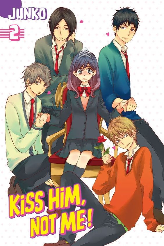 kiss him not me characters