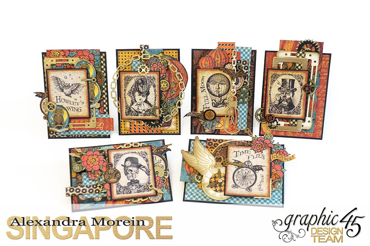 Steampunk Spells Artist Trading Cards, Project by Alexandra Morein, Product by Graphic 45, Photo 1.jpg