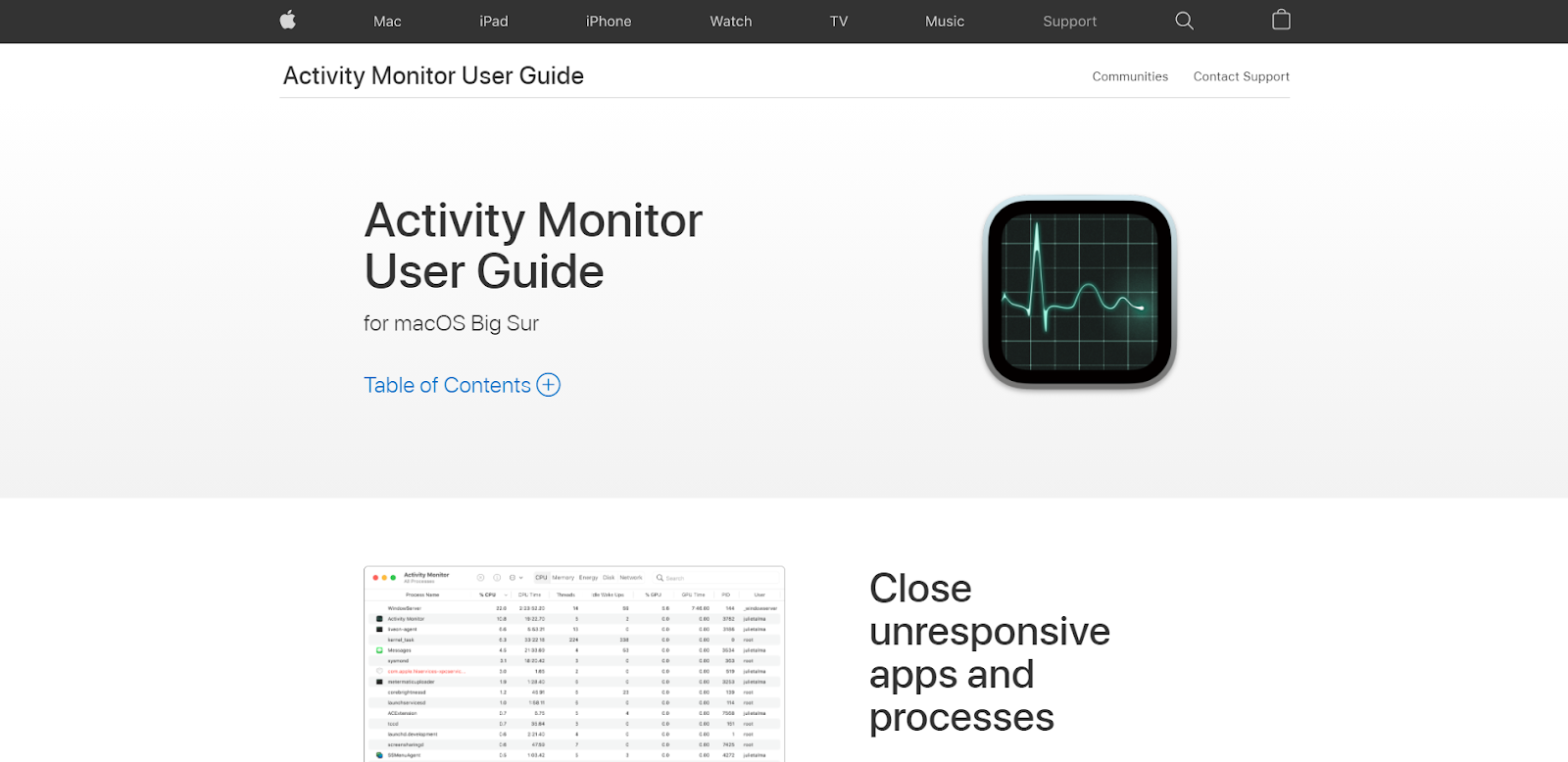Mac Network Monitoring Software - Activity Monitor
