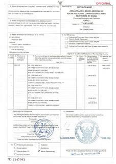 giấy chứng nhận điều hòa Casper Thái Lan