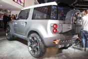 Land Rover Dc 100 Rear Three Quarters View