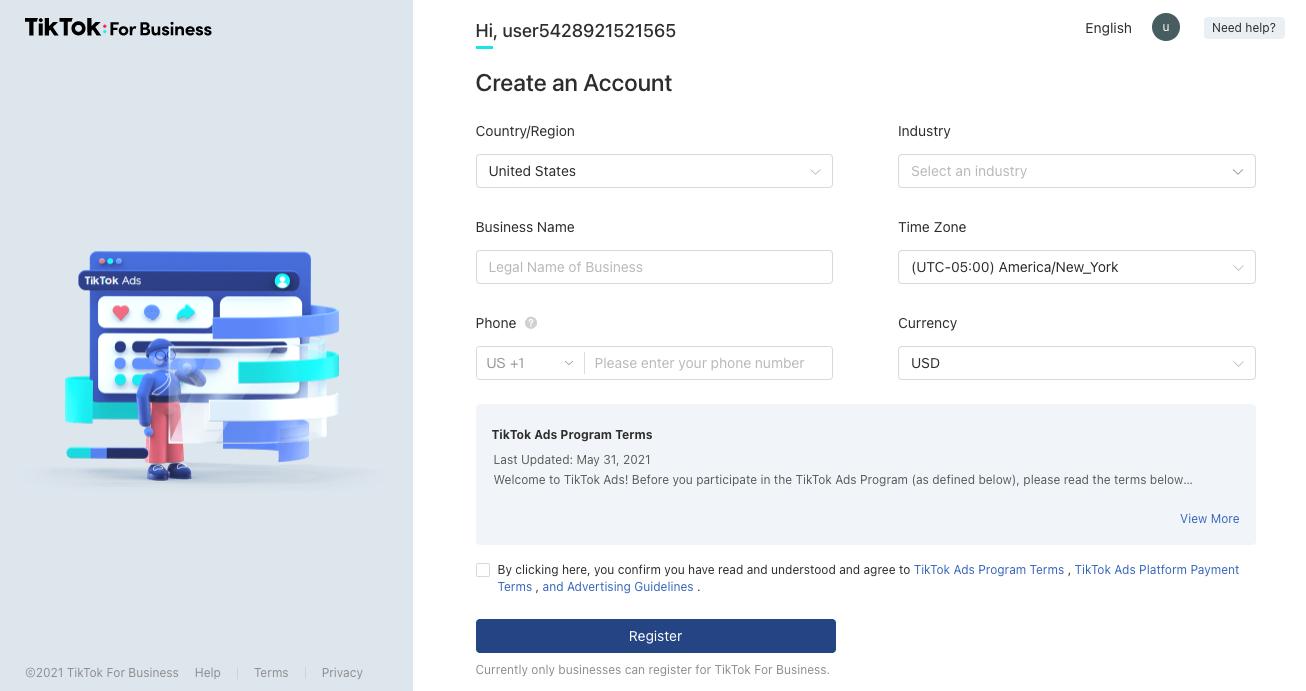 tiktok signup for businesses - grin influencer marketing