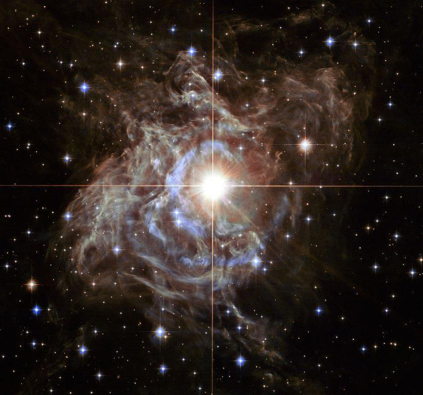 Twinkling space