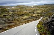 Aurlandsvegen - Снежная дорога