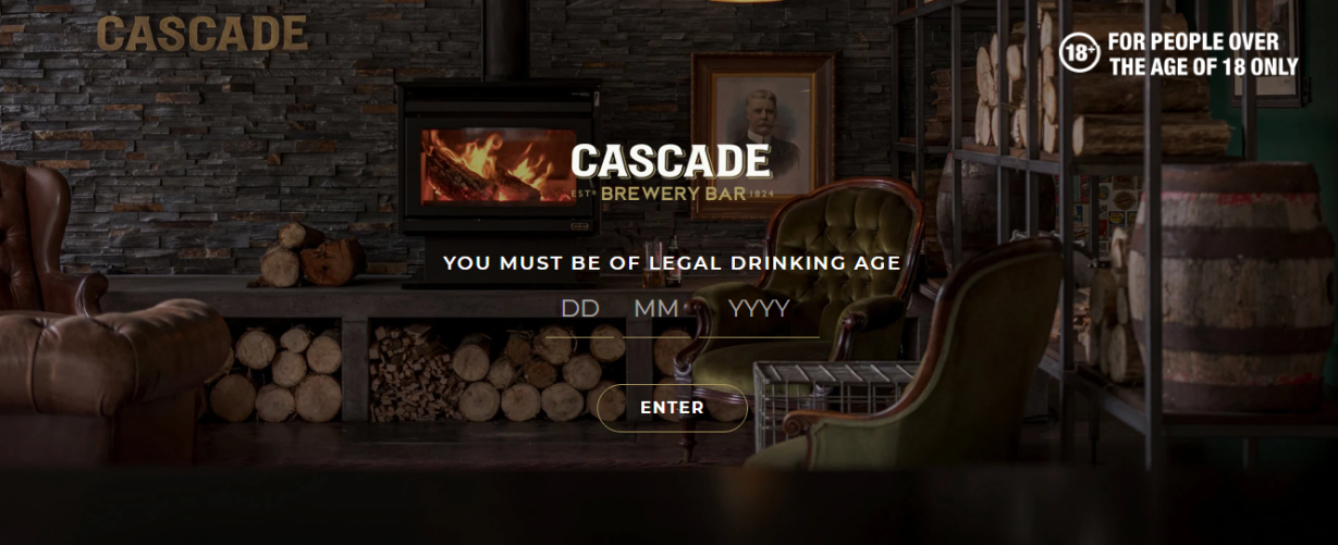 Cascade Vintage Style Typography