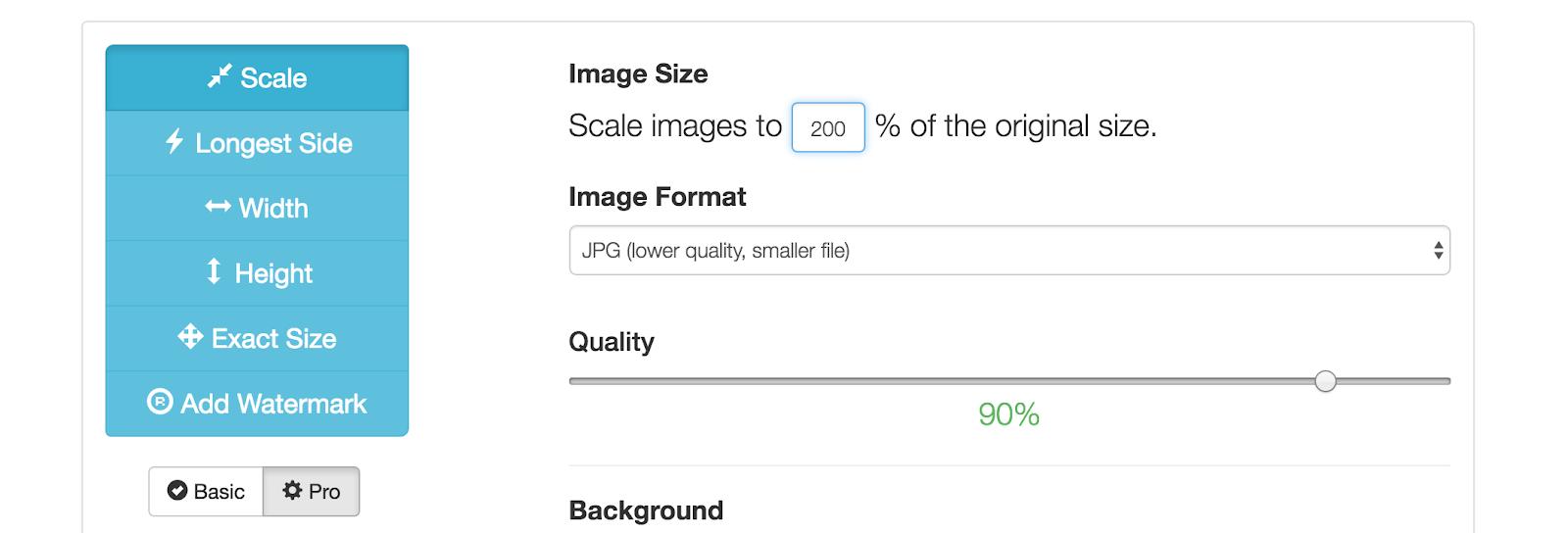 Make the Picture Bigger? - Image Enlarger - Free Online Image Editing