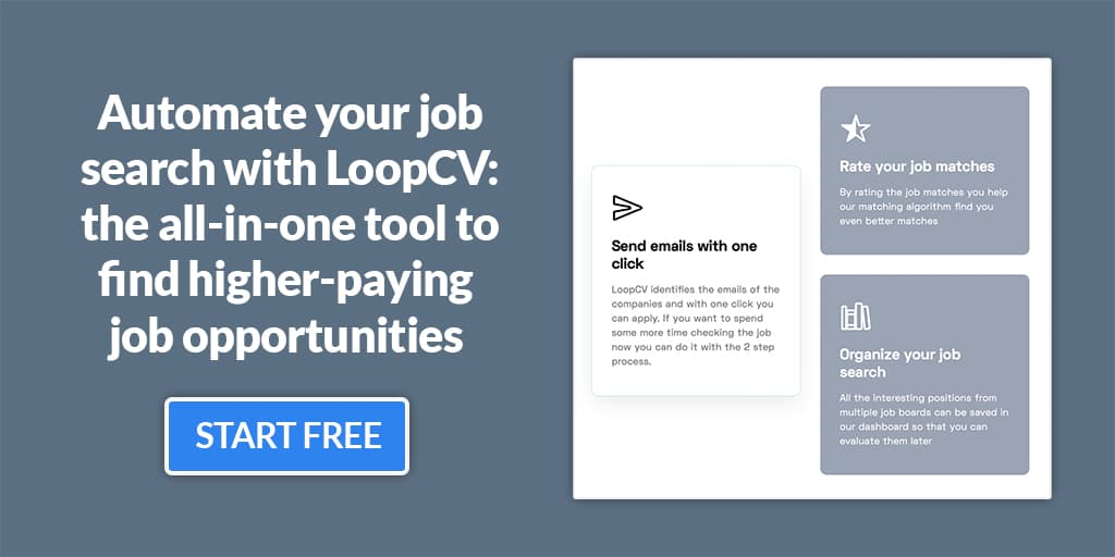 automate your job search with loopcv