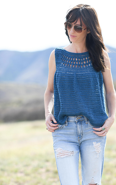 Summer Vacation Crocheted Top