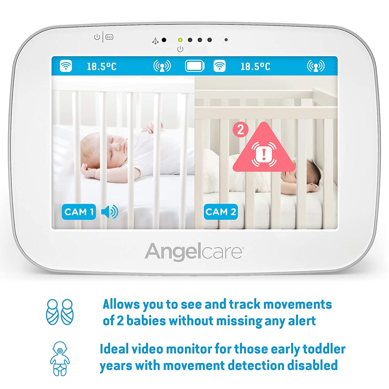 Angelcare Baby Monitor With Movement Tracking