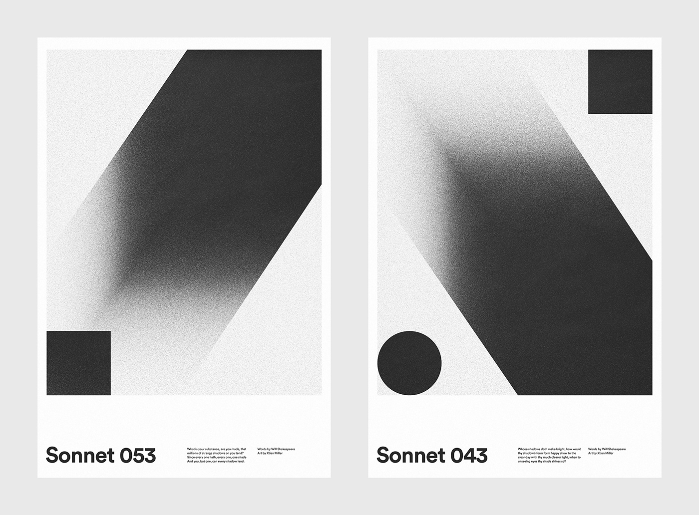Sonnet 053 and 043