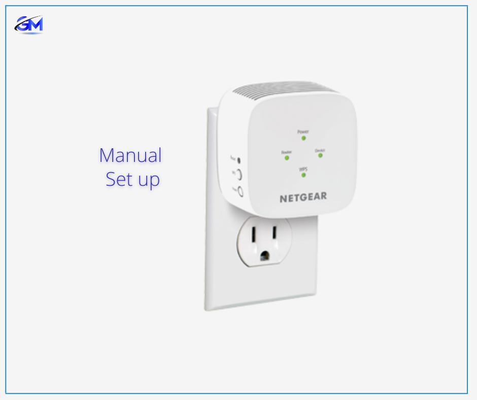 Manual Netgear Extender set up