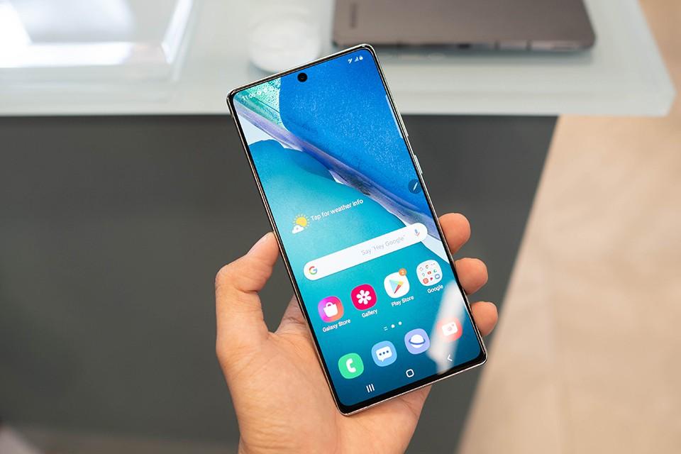màn hình Samsung Galaxy Note20