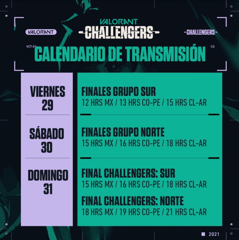 Los mejores equipos de VALORANT Challengers se enfrentan este fin de semana en LAN y LAS