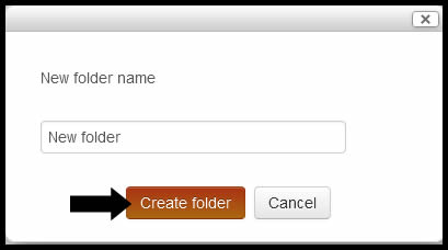Create folder.jpg