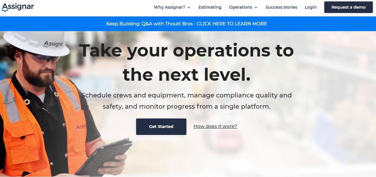Assignar's website