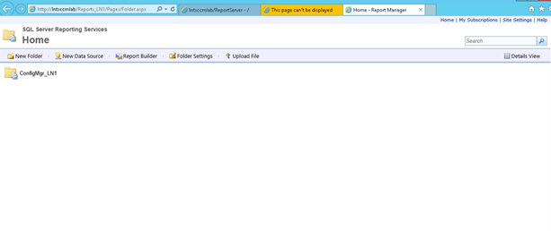 Installing and Configuring SCCM 2012 SP2 Reporting Service