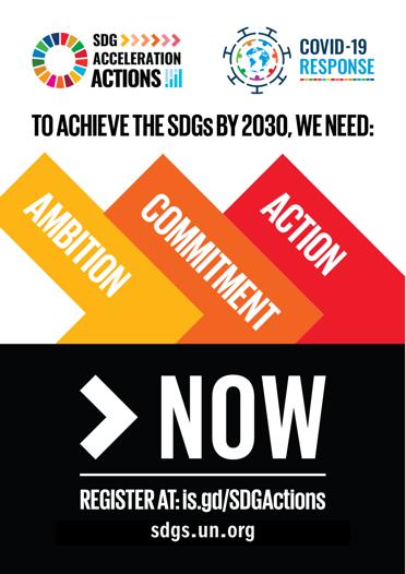 SDG Acceleration Actions flyer