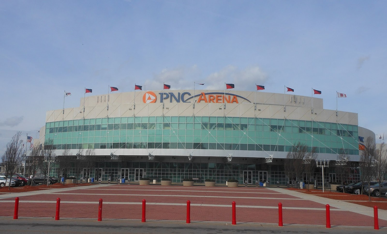 PNC Arena in Raleigh, North Carolina is one of the locations where Johnson & Johnson COVID-19 vaccinations were temporarily suspended due to side effects.
