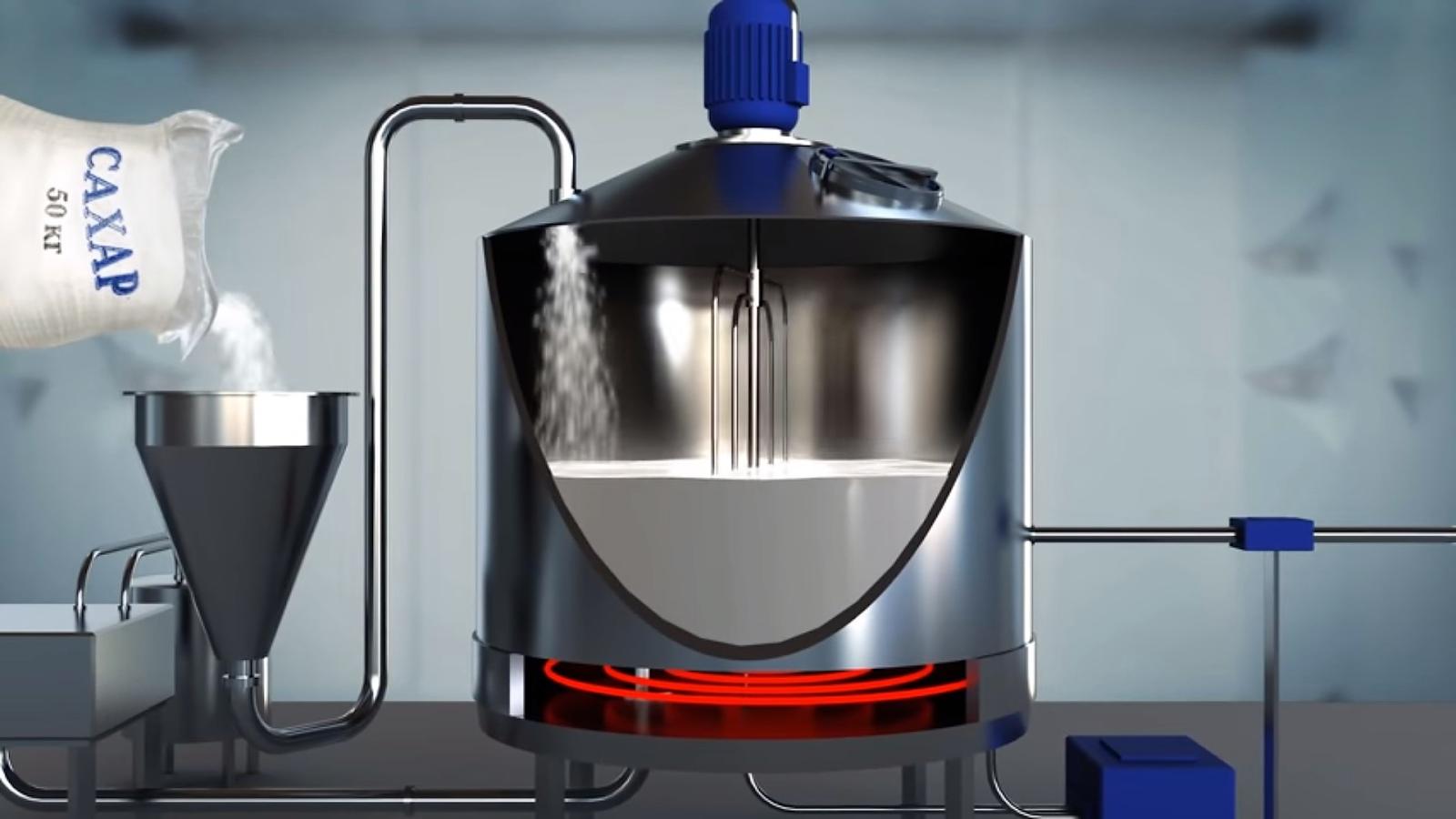 технология сгущенного молока с сахаром