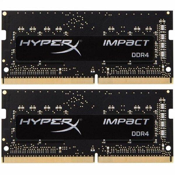 Пам'ять до ноутбука Kingston HyperX Impact DDR4 2666 16GB KIT (8x2GB) SO-DIMM (HX426S15IB2K2/16)