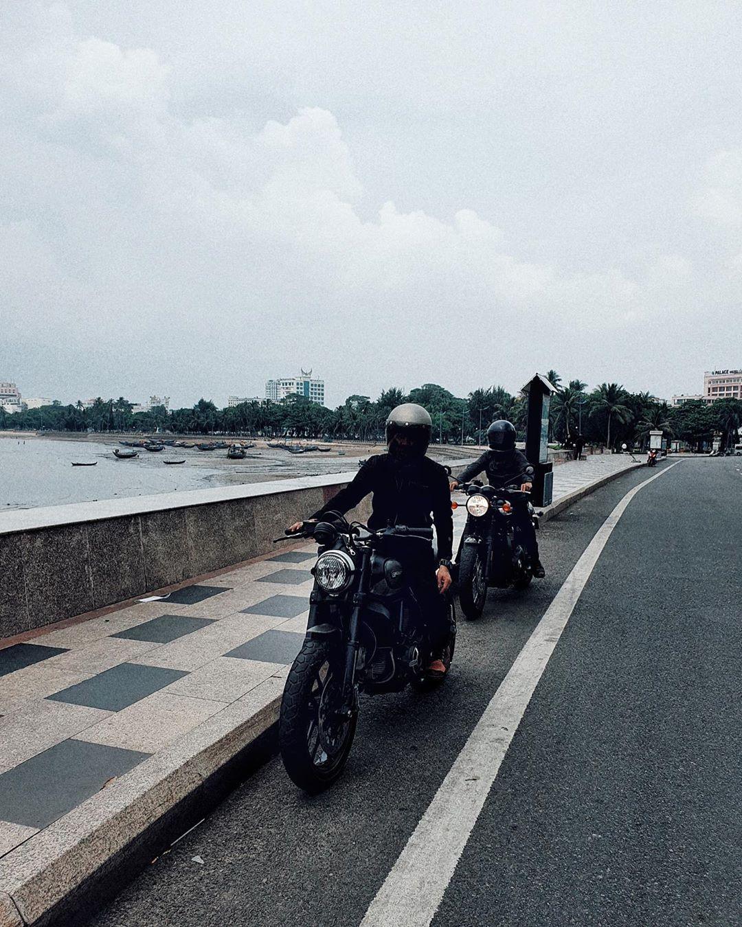 Đi Vũng Tàu bằng xe máy?