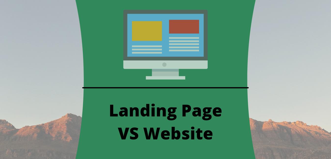 6 Perbedaan Landing page dan Website