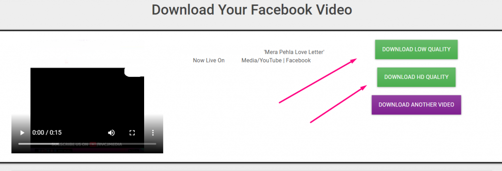 How to Download any Facebook Video for free