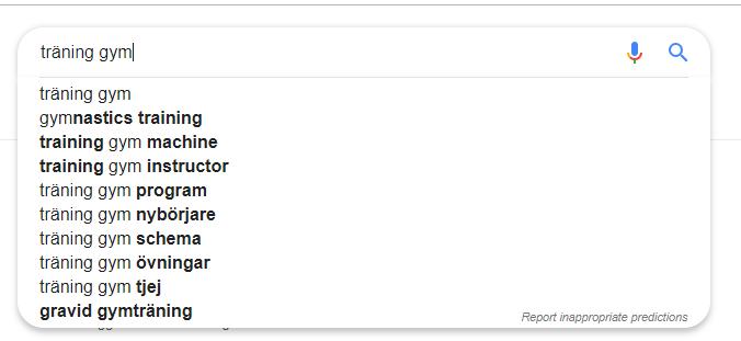 google suggest exempel