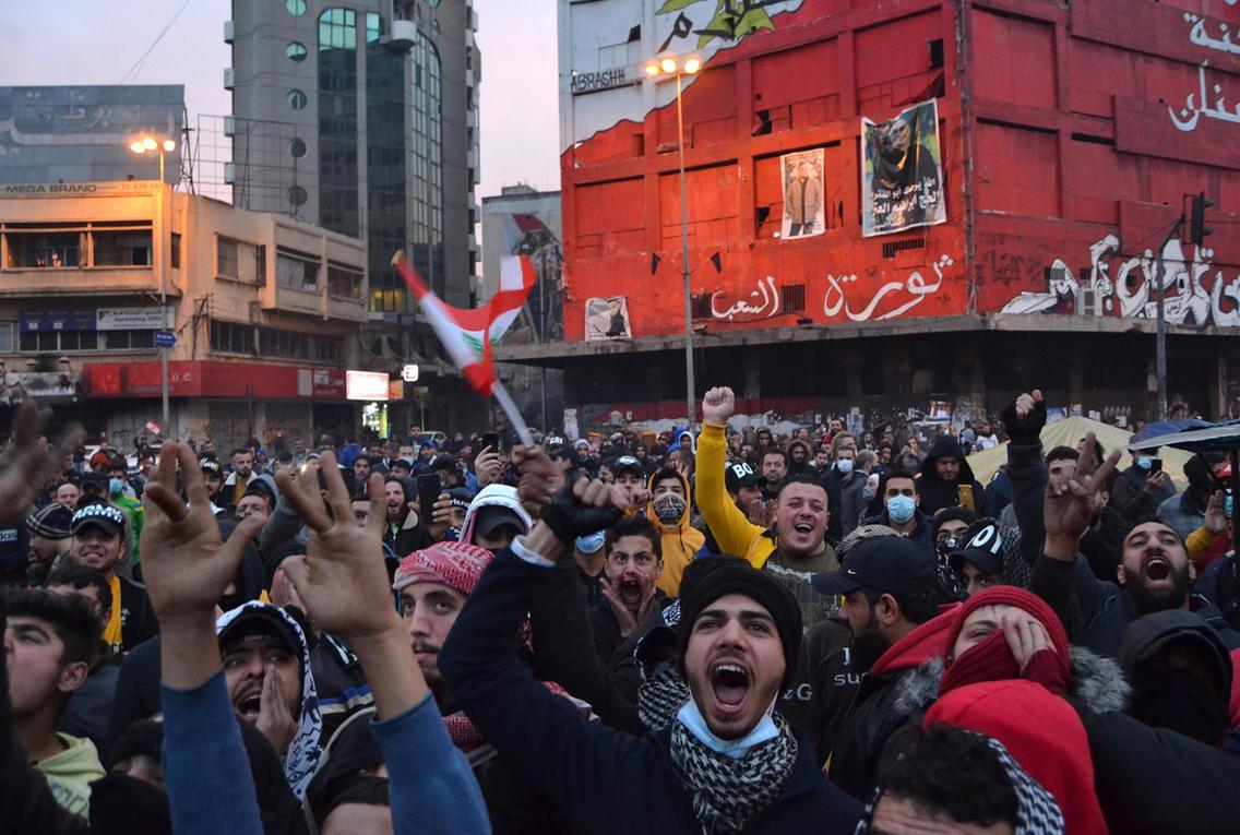 Lebanon's Tripoli protests reach new levels of violence | The National
