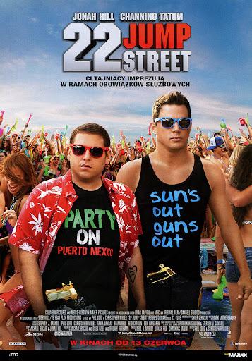 Przód ulotki filmu '22 Jump Street'
