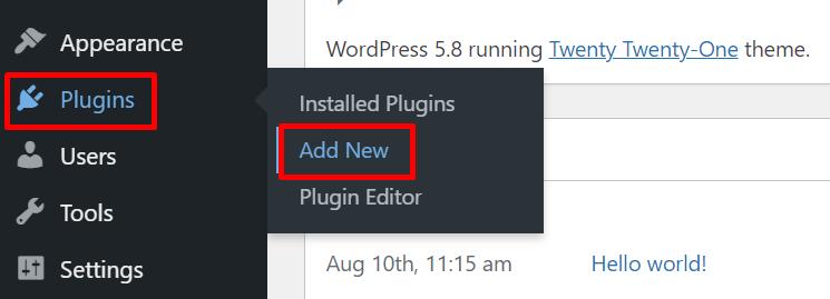 installing an email subscription plugin on wordpress, installing fluentcrm